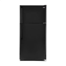 Haier 18.1-Cu.-Ft. Top Mount Refrigerator - smooth-black