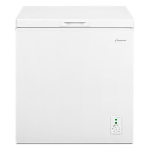 Amana® 5.3 cu. ft. Compact Freezer with 2 Rollers - White