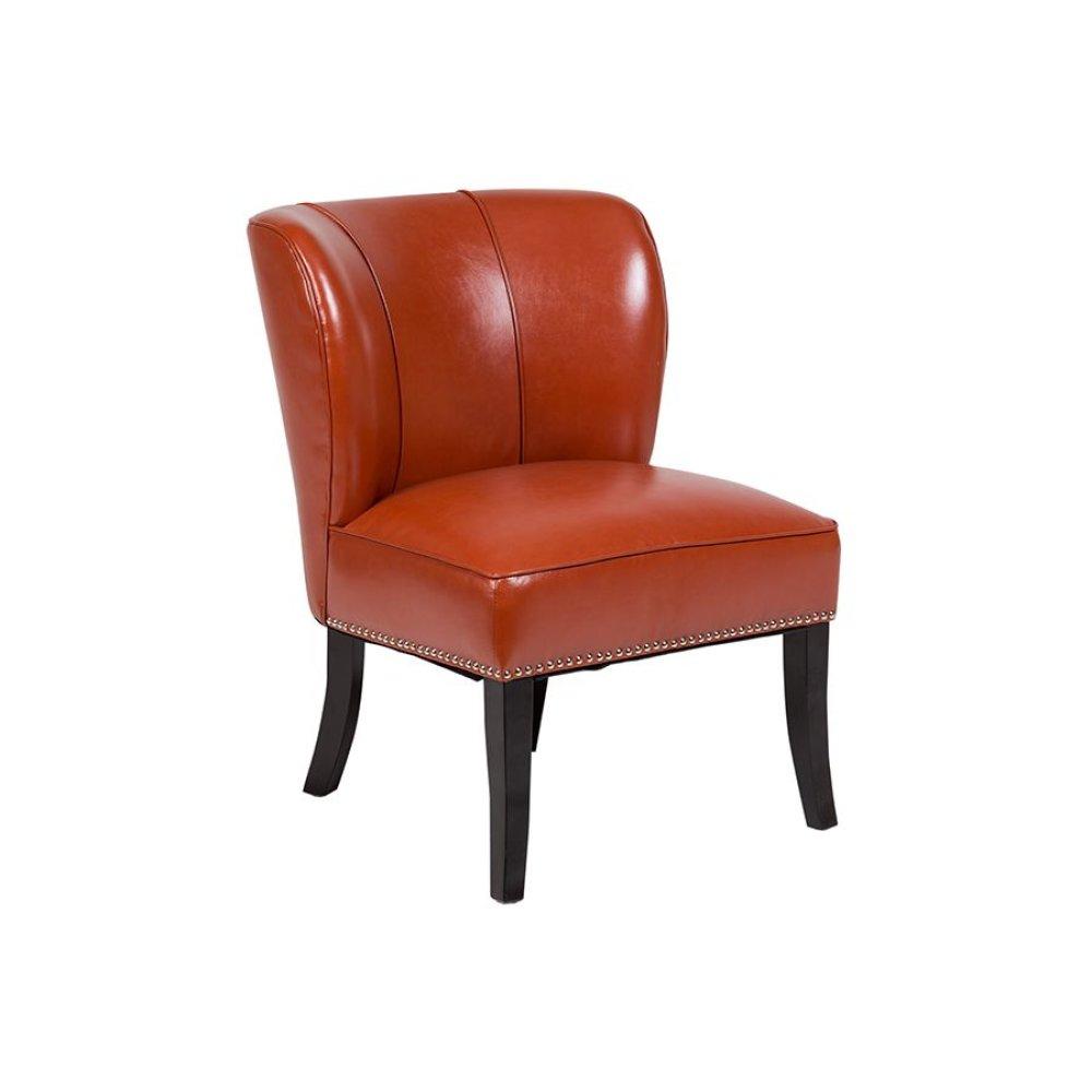 Ipanema AC323 Sunset Orange Accent Chair