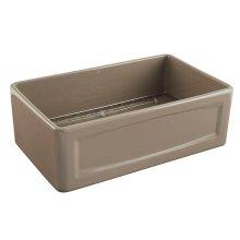 Hillside 30 Inch Apron Kitchen Sink - Oyster