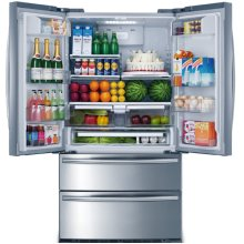 Thor Kitchen 20.85 cu. ft. COUNTER DEPTH French Door Refrigerator in Stainless Steel
