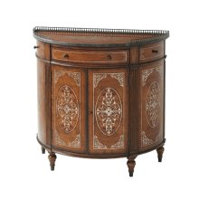 Finely Traced Decorative Chest - Movingue & Floral Gilt