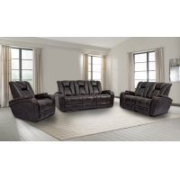 Optimus Truffle Power Reclining Collection Product Image