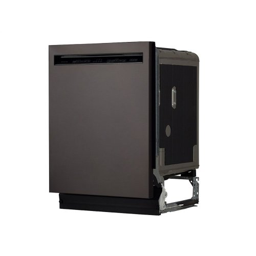 46 DBA Dishwasher with ProWash™ Cycle and PrintShield™ Finish, Front Control - Black Stainless