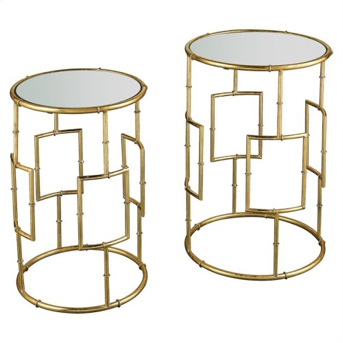King Priam Accent Tables - Round (set of 2)