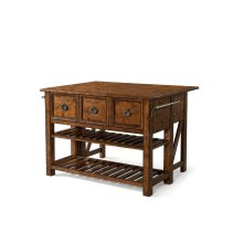 436-885 ISLAN Southern Pines Kitchen Island