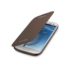 Galaxy S® III Flip Cover, Brown