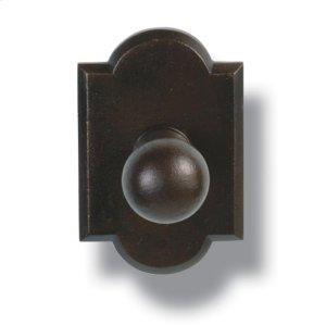 Heritage  Robe Hook - Ornate Plate Product Image