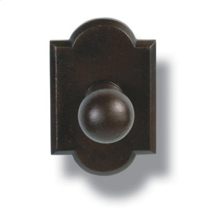 Heritage  Robe Hook - Ornate Plate Product Image