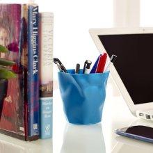 Lava Pencil Holder in Blue