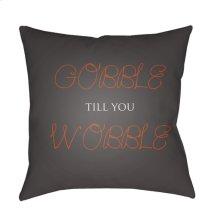 "Gobble Till You Wobble GOBBLE-002 20"" x 20"""