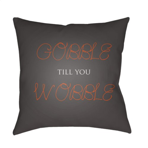 "Gobble Till You Wobble GOBBLE-002 18"" x 18"""