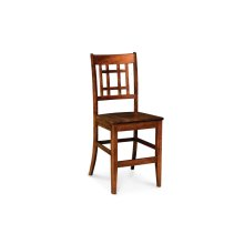 """Campbell Stationary Barstool, Campbell Stationary Barstool, 30""""h, Fabric Seat"""