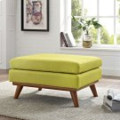 Engage Upholstered Fabric Ottoman in Wheatgrass Product Image