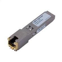 1000Base-T RJ-45 SFP Module 100m over CAT 5 UTP Cable