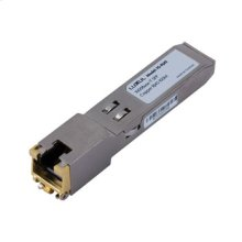 1000Base-T RJ-45 SFP Module 100m over CAT 5 UTP Cable