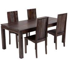 Big Sur Gray Wash Sheesham Dining Table, SB-GS6