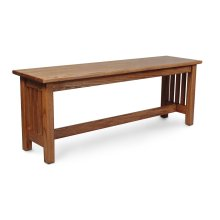"Mission Bench, Mission Bench, 36""w"