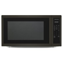 """24"""" Countertop Microwave Oven with PrintShield Finish - 1200 Watt - Black Stainless"""