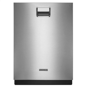 24'' 6-Cycle/7-Option Dishwasher, Ultra Handle - Stainless Steel