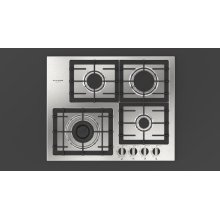 """24"""" Gas Cooktop - Stainless Steel"""