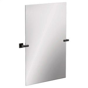 Triva matte black mirror Product Image