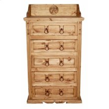 San Gabriel 5 Dr Chest W/star