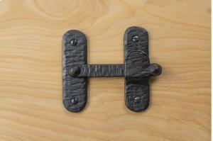 "Black 3.5"" Furniture Bar Latch 881594A Product Image"