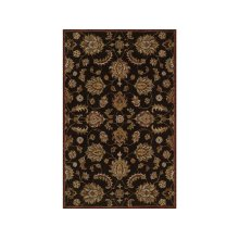 England Floor Coverings Pars Kashan K-2681 Chocolate 5' x 8' Rectangle 101128