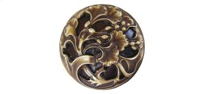 Florid Leaves - Antique Brass Product Image