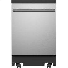 """GE® 24"""" Portable Dishwasher"""