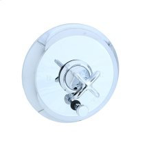 Hexa - Pressure Balance Mixing Valve Trim - Polished Chrome