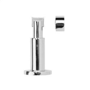 Magnetic doorstop 38mm wall/floor mount adj. 80/100mm, Polished Chrome Product Image