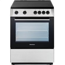 "24"" Electric, non-convection, smooth top 4 zone, stainless"