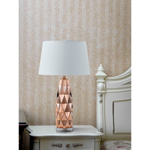 150W 3 Way Marfa Ceramic Table Lamp (Sold And Priced As Pairs)