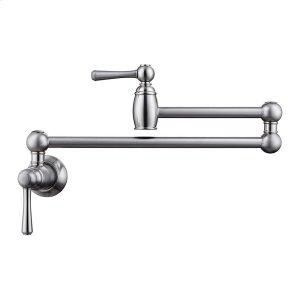 Dai Dual Handle Wall Mount Pot Filler - Brushed Nickel Product Image