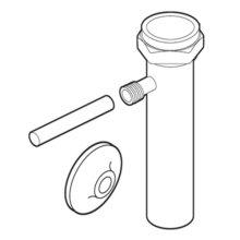 Commercial Flush valve trap primer