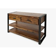 Loftworks Sofa Table W/drawers
