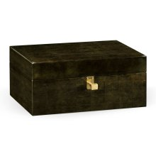 Dark Bronze Rectangular Box