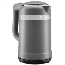 1.5 Liter Electric Kettle with dual-wall insulation - Matte Charcoal Grey