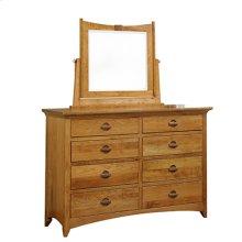 Highlands 8-Drawer Dresser with Mirror