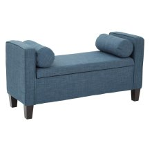 Cordoba Storage Bench With Pillows