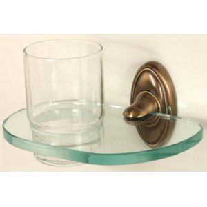 Classic Traditional Tumbler Holder A8070 - Antique English