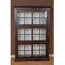 "#448 Large Currahee Bookcase 54""wx18.5""dx78""h"