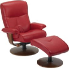 R-634 Nexus Red Leather Recliner