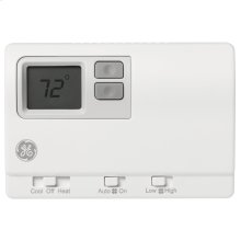 Two Fan Speed Digital Remote Thermostat