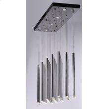 Flute LED 35-Light Pendant