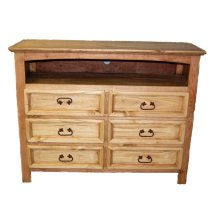 6 Drawer Dresser TV Stand