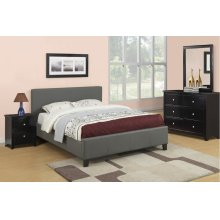 F9226 / Cat.19.p109- QUEEN BED GREY MW F4251/2/3