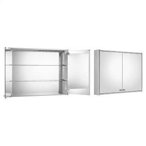 Medicinehaus double door anodized aluminum cabinet. Product Image